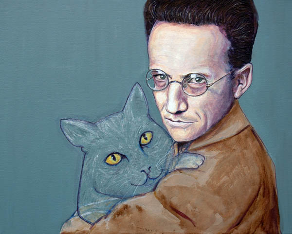 Shrodinger and his cat (2011)