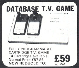 Database! TV! Game!